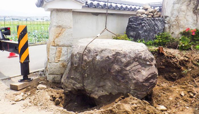 石積み 造園